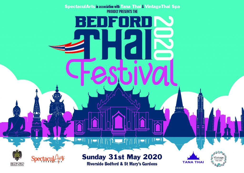 Cancelled - Bedford Thai Festival 2020 @ Riverside Bedford & St Mary's Gardens